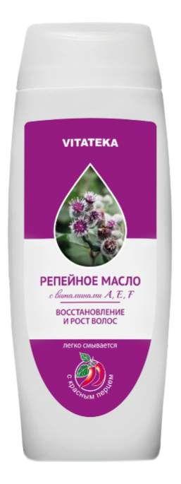 Витатека Репейное масло с красным перцем, масло косметическое, 100 мл, 1шт.