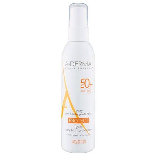 A-Derma Protect Спрей солнцезащитный SPF50+, спрей, 200 мл, 1шт.