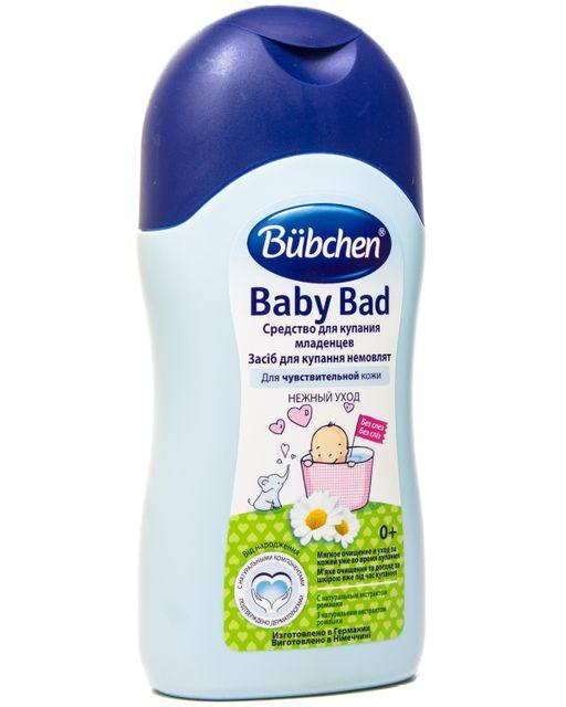 Bubchen Средство для купания младенцев, пена для ванн, 200 мл, 1шт.
