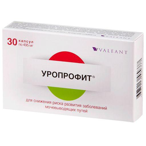 Уропрофит, 495 мг, капсулы, 30шт.
