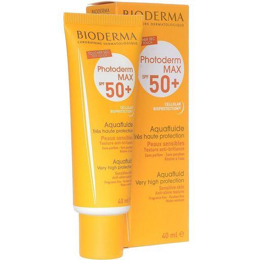 Bioderma Photoderm MAX SPF50+ АкваФлюид, крем для лица, 40 мл, 1шт.