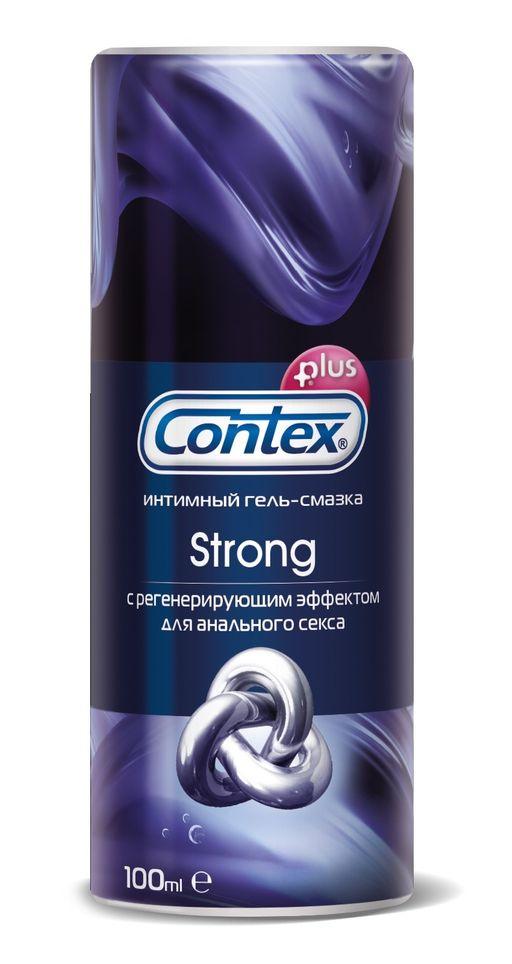 Гель-смазка Contex Strong, гель, с регенерирующим эффектом, 100 мл, 1шт.