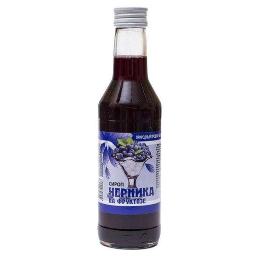 Сироп Черника на фруктозе, жидкость для приема внутрь, 250 мл, 1шт.