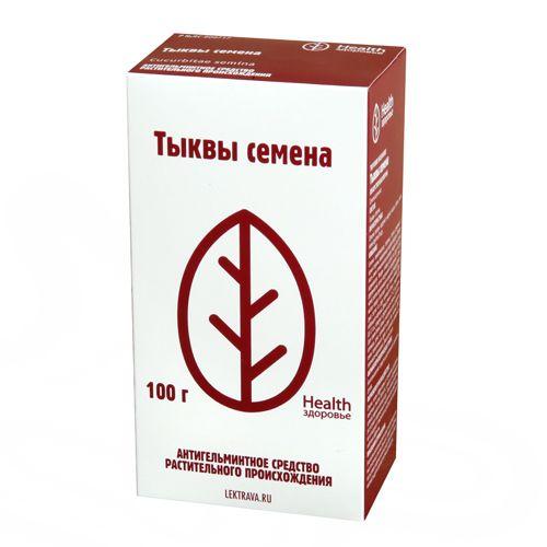 Тыквы семена, лекарственное растительное сырье, 100 г, 1шт.