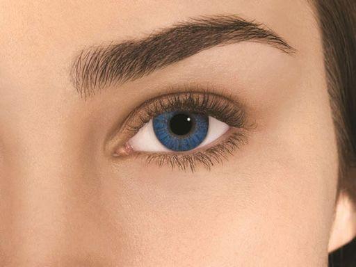 Alcon Air Optix Colors цветные контактные линзы, -0,00 D, Brilliant blue, 2шт.