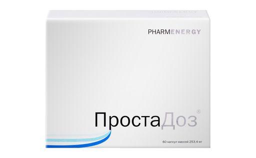 ПростаДоз, 253.4 мг, капсулы, 60шт.