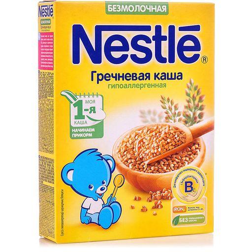 Nestle Каша безмолочная Гречневая , каша детская безмолочная, 200 г, 1шт.