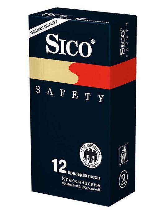 Презервативы Sico Safety, презерватив, 12шт.