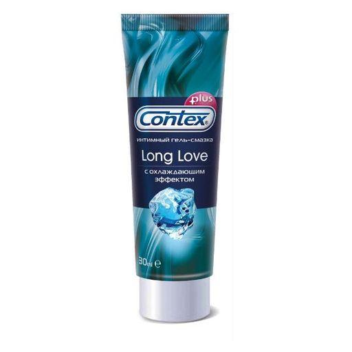 Гель-смазка Contex Long Love, гель, продлевающие половой акт, 30 мл, 1шт.