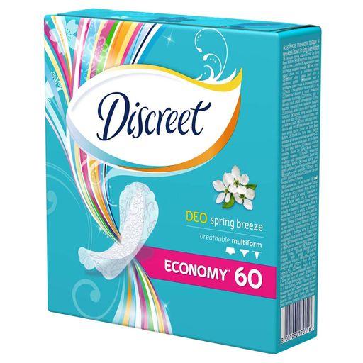 Discreet Deo Spring Breeze Multiform прокладки ежедневные, прокладки гигиенические, 60шт.