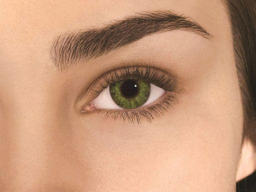 Alcon Air Optix Colors цветные контактные линзы, -0,00 D, Gemstone green, 2шт.