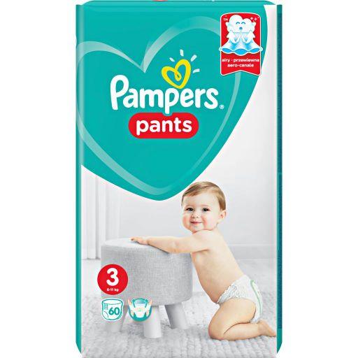 Pampers Pants Подгузники-трусики детские, р. 3, 6-11 кг, 60шт.