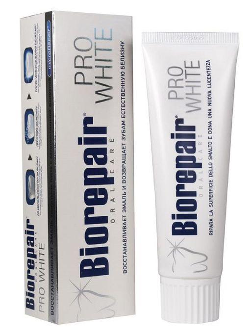 Biorepair Зубная паста отбеливающая, паста зубная, 75 мл, 1шт.