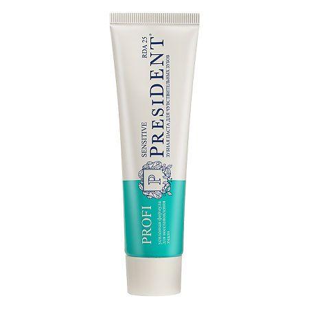 PresiDent Profi Sensitive зубная паста 25 RDA, паста зубная, 50 мл, 1шт.