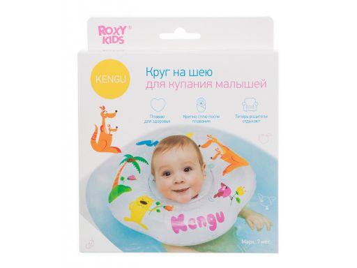 Roxy-kids Круг на шею для купания малышей Кенгуру, 1шт.