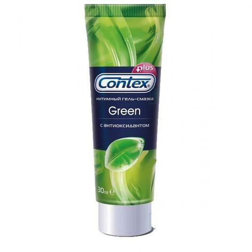Гель-смазка Contex Green, гель, антибактериальное, 30 мл, 1шт.