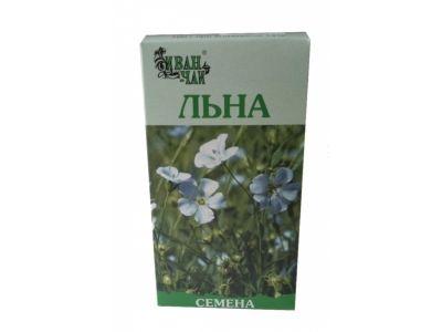 Льна семена, лекарственное растительное сырье, 100 г, 1шт.
