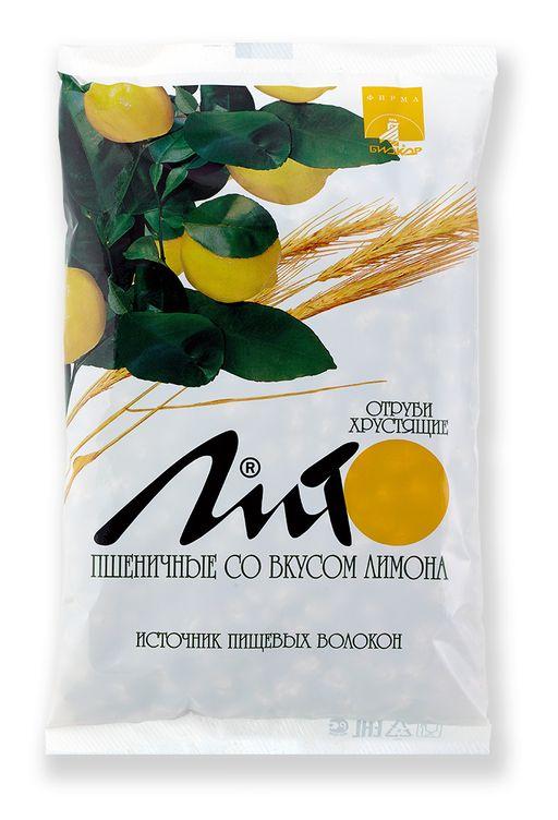 Отруби хрустящие сладкие Лито с кальцием со вкусом лимона, гранулы, 200 г, 1шт.