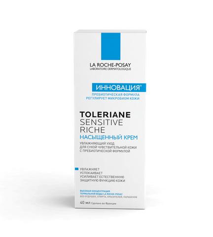 La Roche-Posay Toleriane Sensitive насыщенный крем, крем, 40 мл, 1шт.