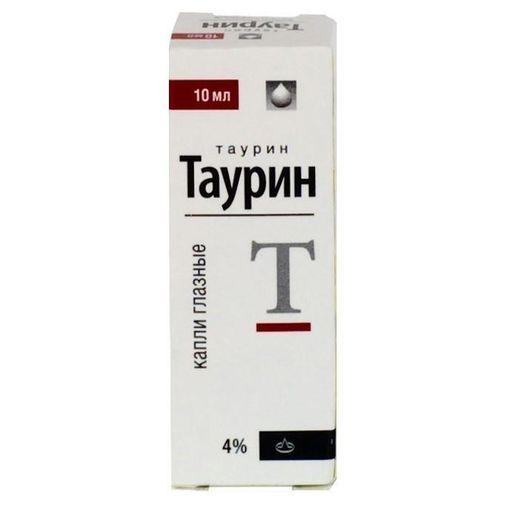 Таурин, 4%, капли глазные, 10 мл, 1шт.