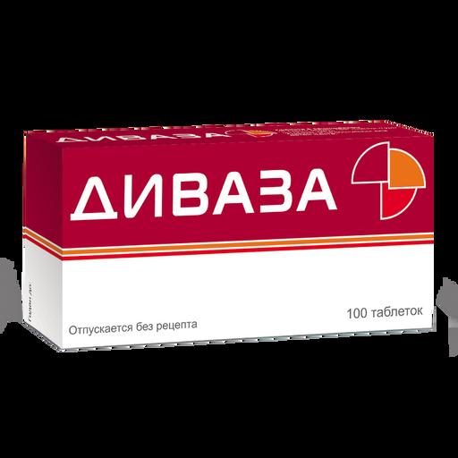 Диваза, таблетки для рассасывания, 100шт.