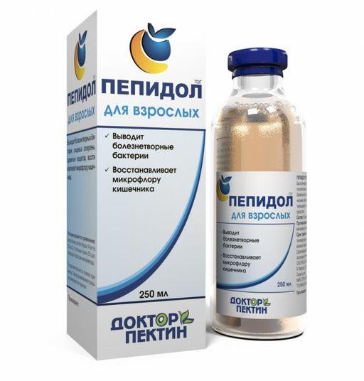 Пепидол Пэг, 5%, раствор водный, 250 мл, 1шт.