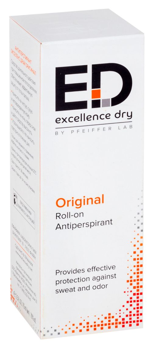 Excellence Dry Антиперспирант Оригинал, 75 мл, 1шт.