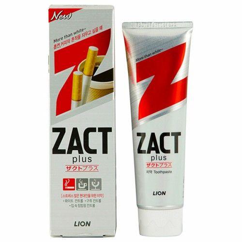 Zact Lion Зубная паста Отбеливающая, паста зубная, 1шт.