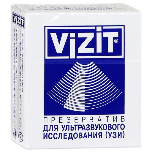Презервативы Vizit для УЗИ, презерватив, 1шт.