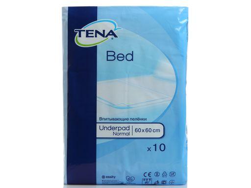 Пеленки впитывающие (простыни) TENA Bed Underpad, 60х60, Normal, 10шт.