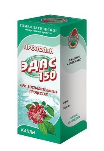 Эдас-150 Прополан, капли для приема внутрь гомеопатические, 25 мл, 1шт.