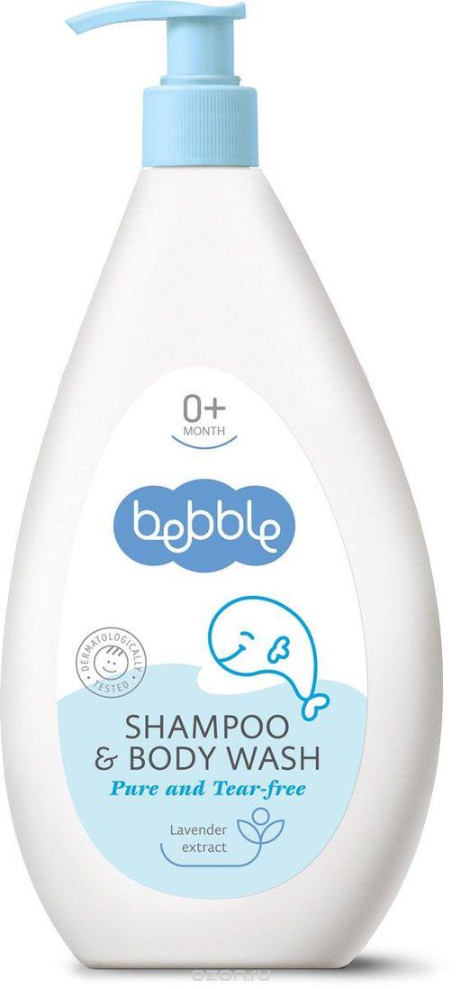 Bebble Шампунь детский для волос и тела, шампунь, 400 мл, 1шт.