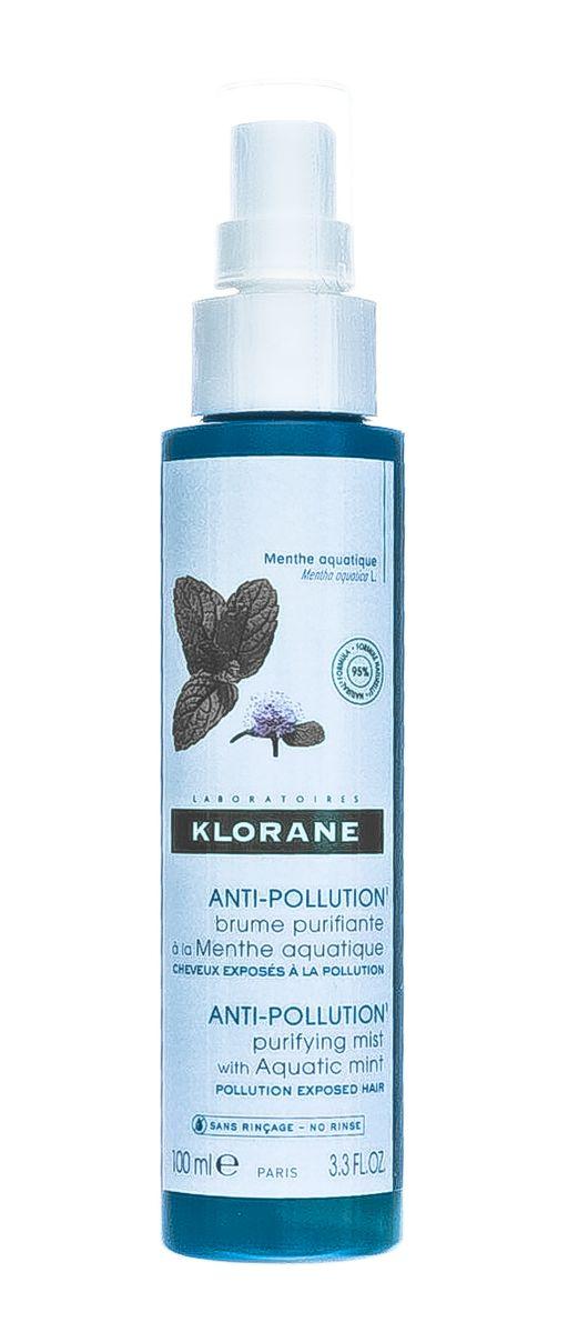 Klorane Дымка для волос с экстрактом водной мяты, 100 мл, 1шт.
