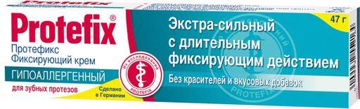 Протефикс крем фиксирующий, крем для фиксации зубных протезов, гипоаллергенный (ая), 47 г, 1шт.