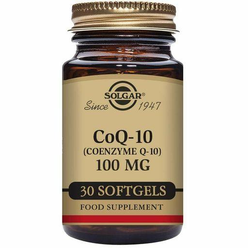 Solgar Коэнзим Q10-100 мг, 100 мг, капсулы, 30шт.