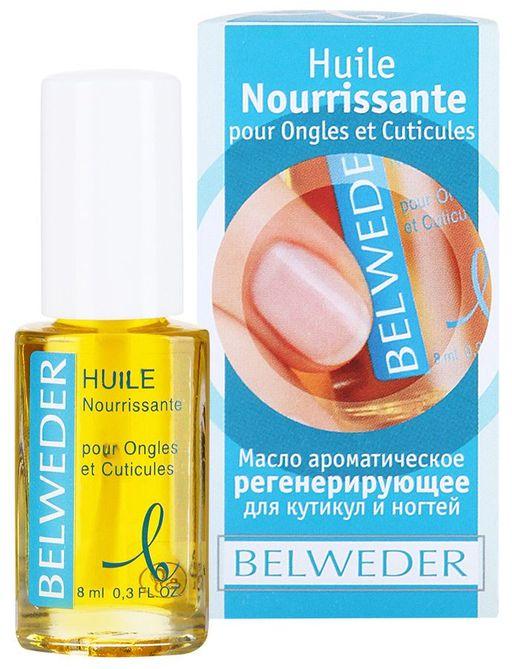 Belweder Масло ароматическое регенерирующее для кутикул и ногтей, 8 мл, 1шт.