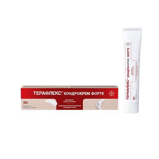 Терафлекс Хондрокрем Форте, 1% + 5%, крем для наружного применения, 50 г, 1шт.