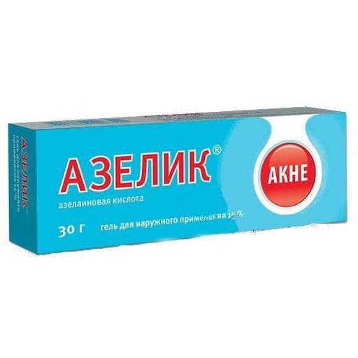 Азелик, 15%, гель для наружного применения, 30 г, 1шт.