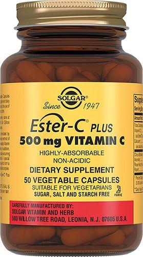 Solgar Эстер-С плюс Витамин C 500 мг, капсулы, 50шт.
