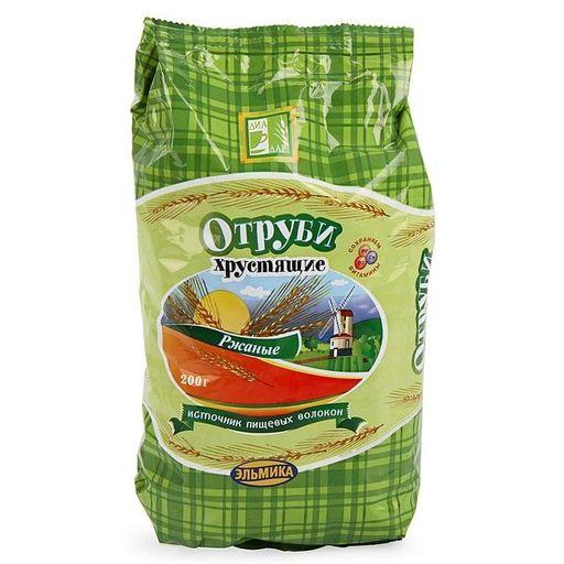 Диадар Отруби ржаные хрустящие, гранулы, 200 г, 1шт.