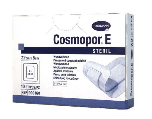 Cosmopor Е Повязка послеоперационная стерильная, 7.2х5см, повязка стерильная, 10шт.