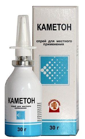 Каметон, спрей для местного применения дозированный, 30 г, 1шт.
