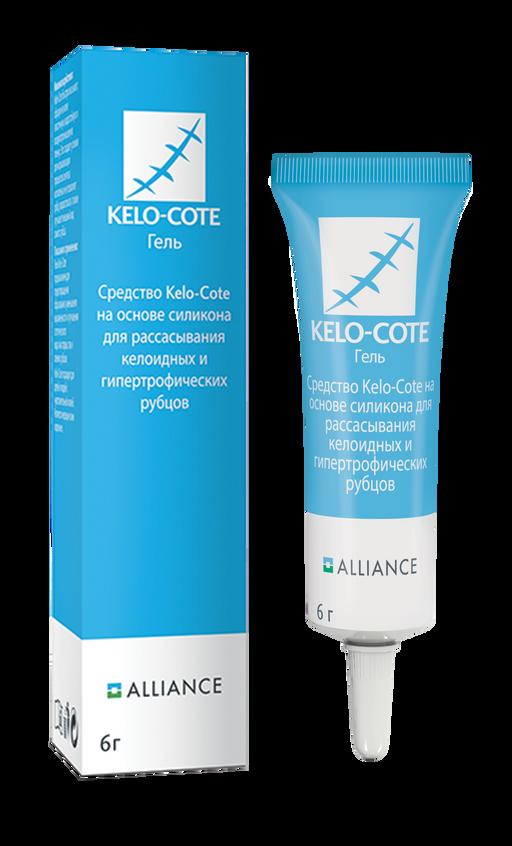 Kelo-Cote средство для рассасывания рубцов, гель, 6 г, 1шт.
