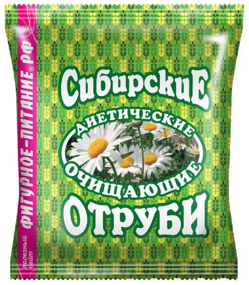 Сибирские отруби пшеничные очищающие, 200 г, 1шт.