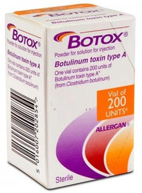 Ботокс, 200 ЕД, лиофилизат для приготовления раствора для внутримышечного введения, 1шт.