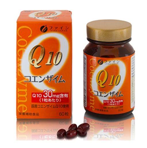 Файн Коэнзим Q10-30 с витамином B1, 390 мг, капсулы, 60шт.