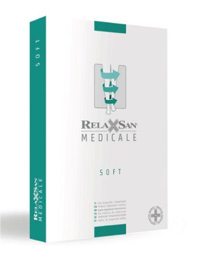 Relaxsan Medicale Soft Чулки с микрофиброй 1 класс компрессии, р. 1, арт. M1170 (15-21 mm Hg), телесного цвета, пара, 1шт.