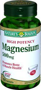 Natures Bounty Магний 500 мг, 500 мг, таблетки, 100шт.