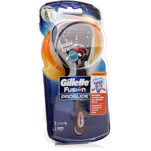 Gillette Fusion ProGlide Flexball Станок с 1 сменной кассетой, 1шт.