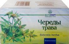 Череды трава, сырье растительное-порошок, 1.5 г, 20шт.